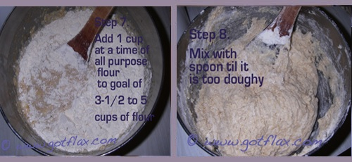 Flax Bread, Homemade Bread Recipe, How to make bread, Flax bread recipe