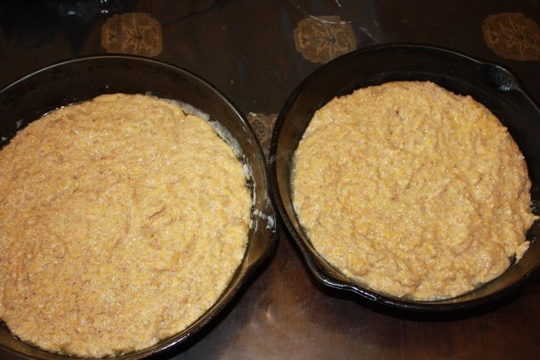 flax cornbread, flaxseed cornbread, cornbread with flax, healthy cornbread