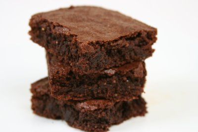 flax brownies, flaxseed brownies, cake brownies, chewy brownie recipe
