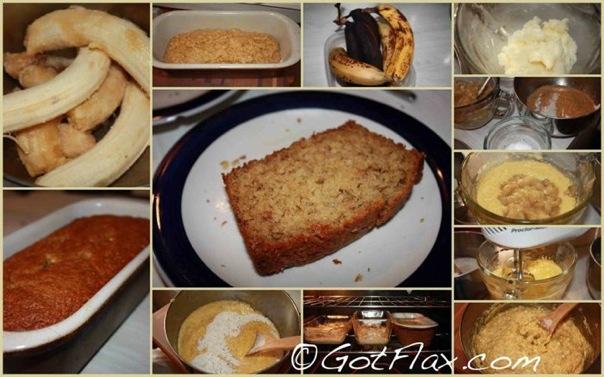 Flaxseed Banana Bread, flax banana bread, banana bread with flax, flax seed banana bread