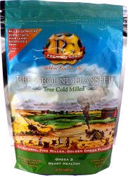 ground flax seed, milled flax seed, cold milled flax seed, premium gold true cold milled flax seed