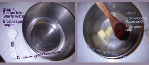 Flax Bread, Homemade Bread Recipe, How to make bread, Flax bread recipe